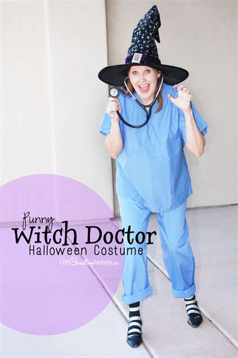 pun halloween costumes witch doctor onecreativemommycom