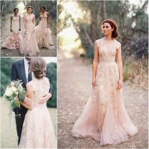 custom made v neck lace wedding dresses 2017 puffy bridal With garden wedding dresses