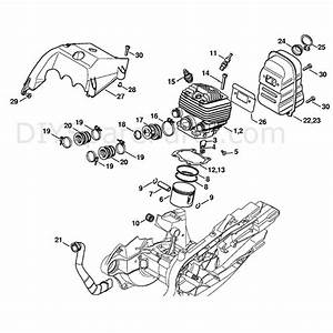 Stihl Ts 700 Disc Cutter  Ts 700  Parts Diagram  Cylinder
