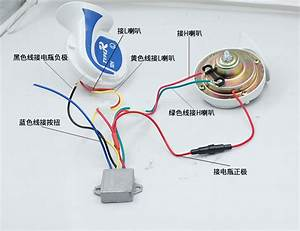 Motorcycle Horn 24v Wiring Diagram