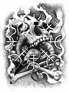 Dessin Symbole Viking : les 25 meilleures id es de la cat gorie tatouage nordique sur pinterest tatouages vikings ~ Nature-et-papiers.com Idées de Décoration