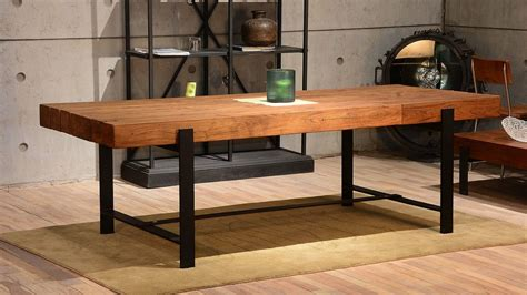 rustic modern dining table san francisco modern rustic dining room industrial with 94
