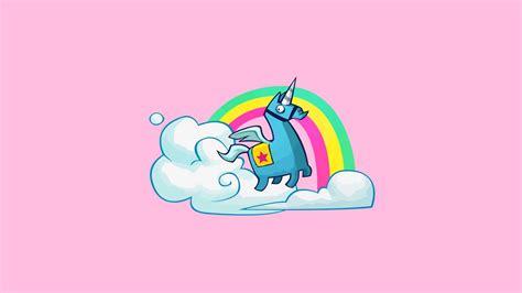 Fortnite Llama/unicorn Pinata Wallpaper By Vaughnwhiskey