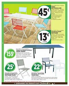 geant casino collection jardin 2015 cataloguespromocom With wonderful leroy merlin store exterieur 13 mobilier de jardin castorama