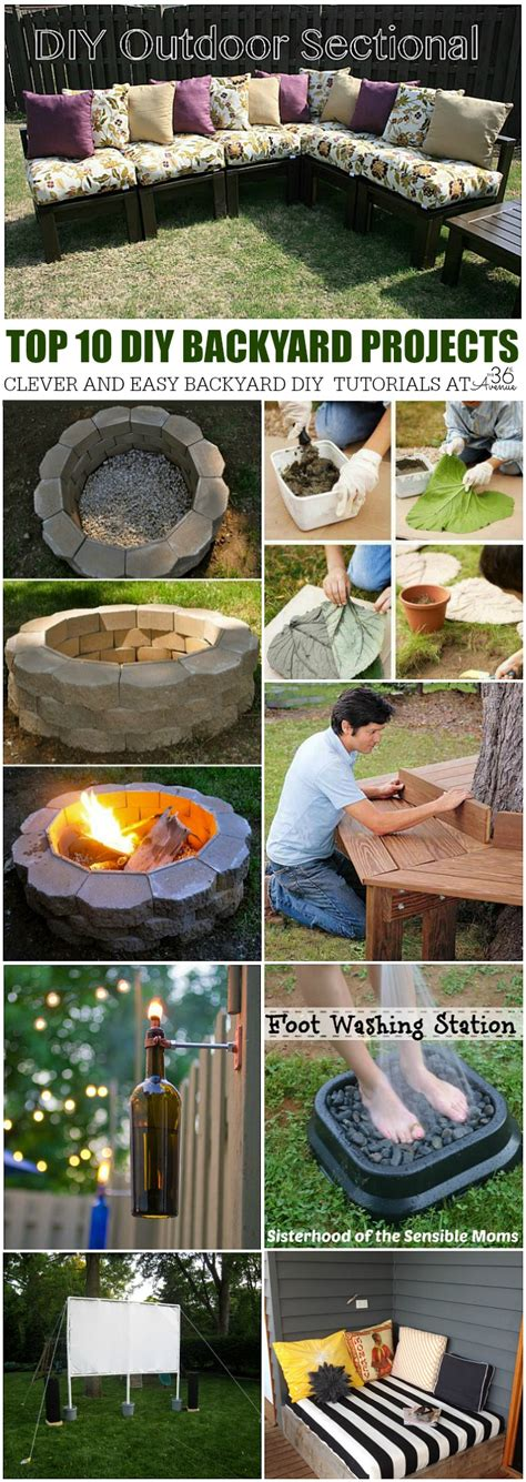 diy home projects backyard ideas the 36th avenue