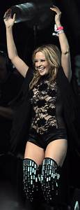 Kylie Minogue Plays Glastonbury - In Thigh Highs & Sheer ...