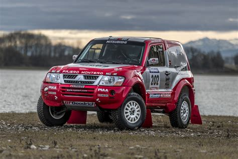 Due to the name pajero roughly translating to wanker in spanish. 2002 Mitsubishi Pajero - MPR9   Classic Driver Market