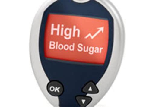 treat  bring  high blood sugar levels