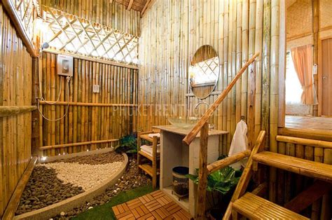 raw bamboo  bedroom bungalow  rawai phuket rent