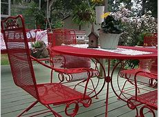 1000+ ideas about Painting Patio Furniture on Pinterest
