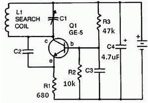 metal detector circuit page 2 sensors detectors circuits With rf detector circuit schematic