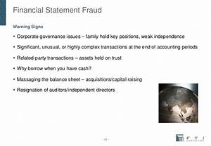 FTI: Financial Statement Frauds - Chinese-Style (Presentation)