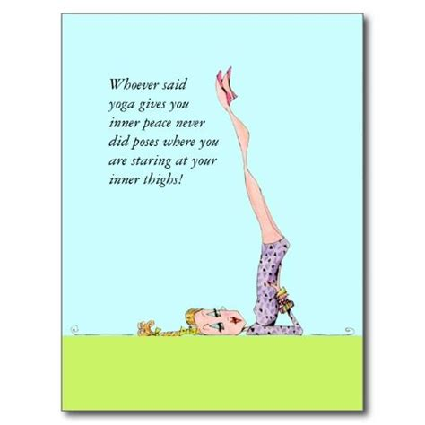 funny yoga images  pinterest yoga humor yoga