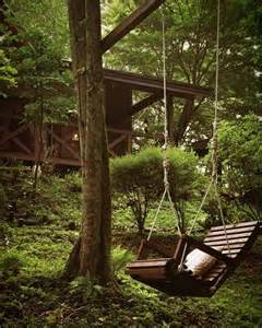 Forest Outdoor Swing Ideas