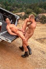 Redhead in park fucked by ranger