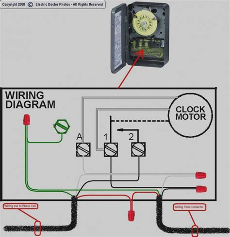 lighting contactor wiring diagram  photocell   diagram wire electrical wiring