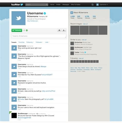 Twitter Template For Posts by Twitter Template Beepmunk