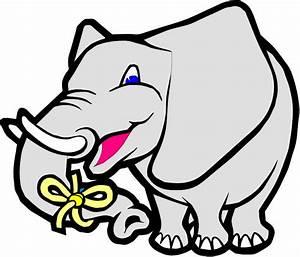 Elephant Remember Clipart - ClipartXtras