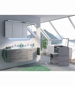 meuble suspendu salle de bain double vasque cassca 153 banyo With meuble double vasque suspendu salle de bain