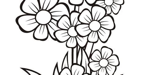koleksi gambar bunga dalam pot hitam putih hitutih44