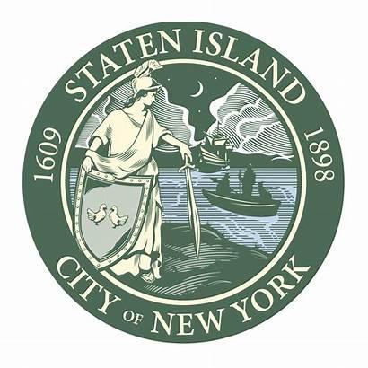 Staten Island Flag Seal President Borough Museum
