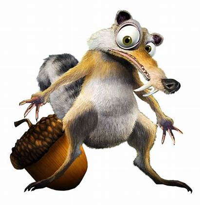 Squirrel Ice Age Transparent Scrat Cartoon Sid