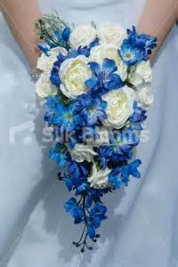 blue wedding flowers beautiful blue delphinium and ivory teardrop bouquet beautiful blue delphinium and ivory