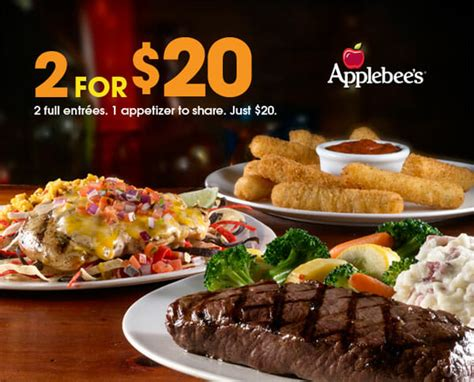 applebee s light menu everyone s excited to try applebee s 2 for 20 menu
