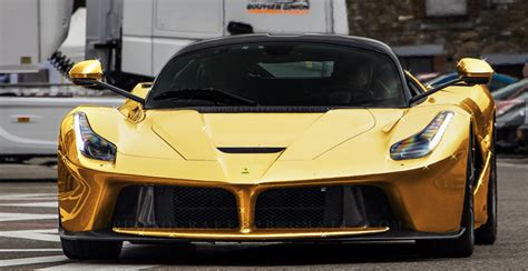 golden ferrari price 15 rare gold plated exotic super cars page 4 of 16