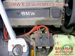 Bmw 318i M42 Coil Pack Spark Plug Wire And Firing Order
