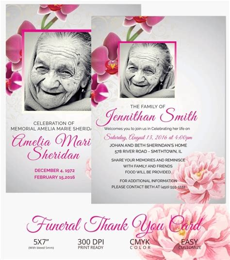 Find your free funeral thank you cards template template, contract, form or document. 26+ Funeral Thank You Cards - PSD, AI, EPS | Free & Premium Templates
