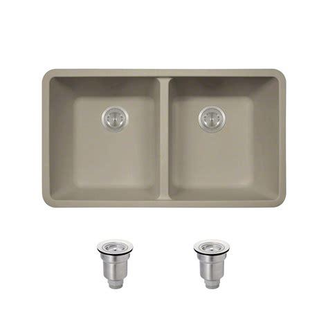 slate kitchen sink blanco performa undermount granite composite 33 in 1 3 4 2306