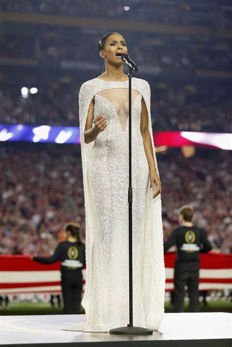 ciara slammed  espn reporters  wearing revealing
