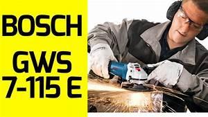 Gws 7 115 E : bosch gws 7 115 e devir ayarl avu ta lama youtube ~ Avissmed.com Haus und Dekorationen