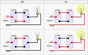 How Does A Bedroom Light Circuit With Two Toggle Switches    Answers