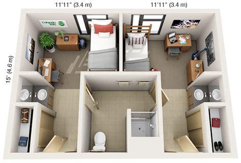 floor ls for dorm rooms laurel single suite floor plan top view skool dayz college