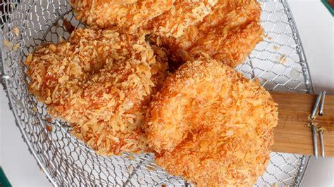 cuisine lotte recette facile poissons panés à la poudre de noisette