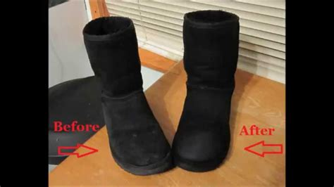 how to clean uggs how to clean ugg boots without cleaner youtube