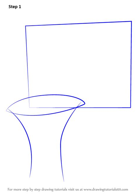 learn   draw basketball hoop  sports step