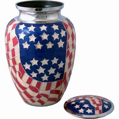 Flag American Urn Urns Wholesale Cremation Brass