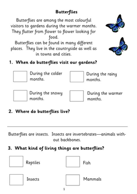 Five Nonfiction Reading Comprehension Booklets For Ks1 (based On Popular Topics) By Jessplex