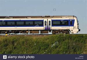 Chiltern Railways train, side view Stock Photo, Royalty ...