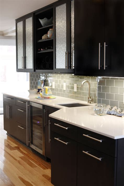 74 t bacco cabinet recycled wood cabinetry black iron frame modern contemporary. Black Cabinets Stainless Steel Handles White Marble Countertops - Welcome