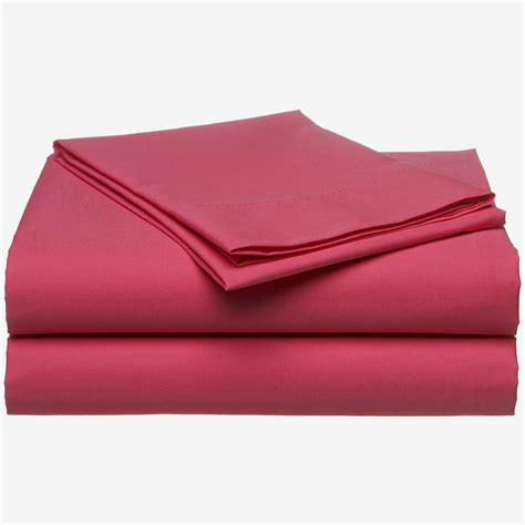 passion pink bed sheets 3pc sheet set twin single size