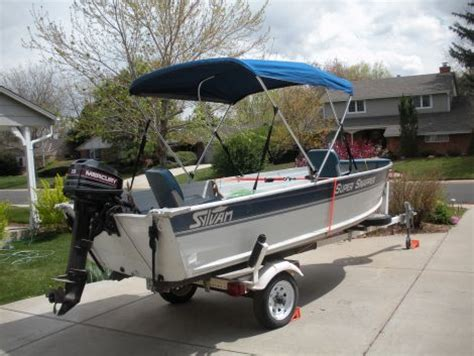 Speed Boats For Sale Denver by 1995 14 Foot Sylvan Snapper Fishing Boat For Sale In