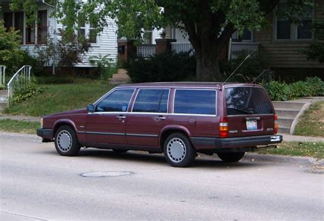 volvo station wagon our ex curbside classic 1989 volvo 740gl station wagon