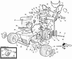 Power Wheels Kawasaki Zx7 Parts