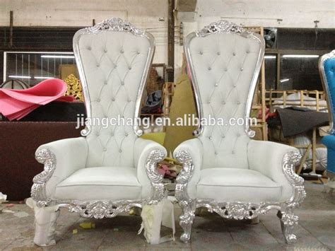 fabric high back upholstered throne chair furniture jc