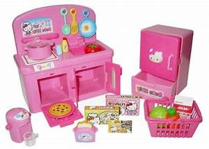 Hello Kitty Kitchen Set With Oven  Stove  Refrigerator