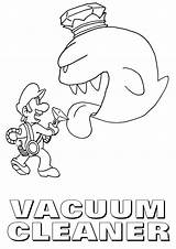 Vacuum Coloring Pages Cleaner sketch template